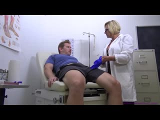 Brianna beach - mom comes first - mother & son medical exam