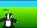 Барсуки (анимация, музыка, песня)