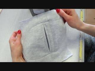 DIY How to sew a pocket. Sewing course. Jak uszyc kieszeń do bluzy lub spodni kurs szycia