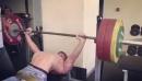Владимир Кривуля жмет 170 кг на 3 раза