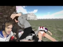 PewDiePie УТОПЛЮ РАДИ СЕМПАЯ Yandere Simulator 5 Русс online video