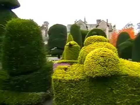 WORLDS FINEST TOPIARY GARDEN - LEVENS HALL