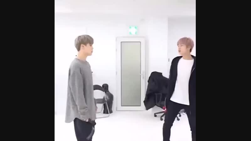 Seokjin only does this certain dance whenever he's