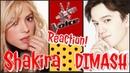 Димаш / шоу Голос / Шакира в шоке / SOS