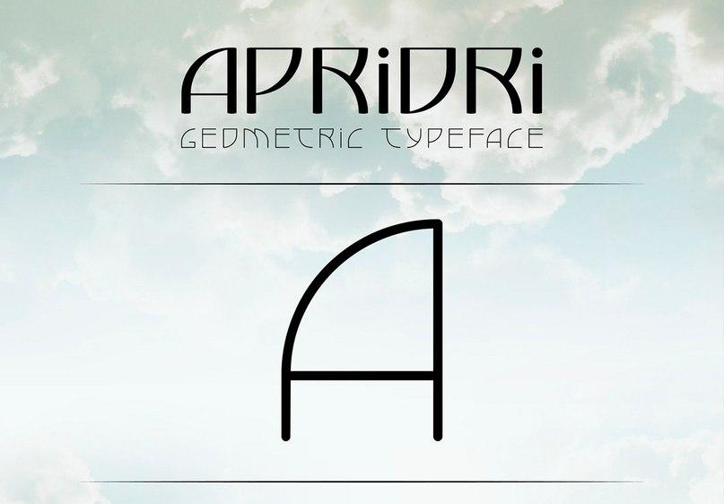 шрифт Apriori