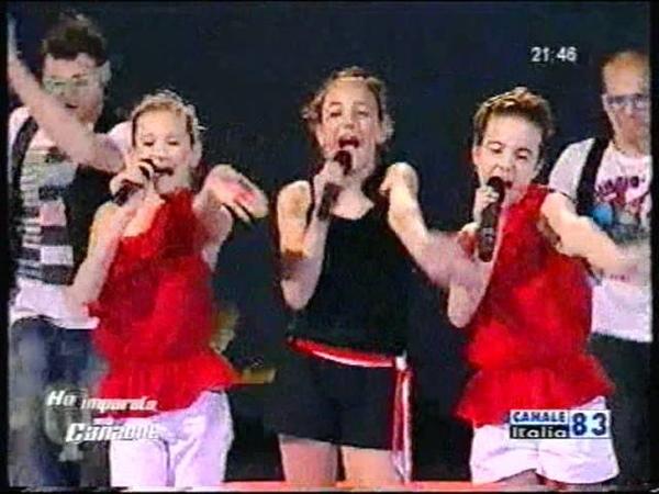 Ho imparato una canzone CANALE Italia Mamma Maria Ricchi e Poveri -- Elena Parpajola trio M.M.E.