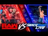 RAW vs Smackdown #10. В клетке только девушки