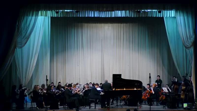Гильмуллин Радик - (К. Сен-Санс) Концерт № 2 для фортепиано с оркестром, 3 часть (Финал)