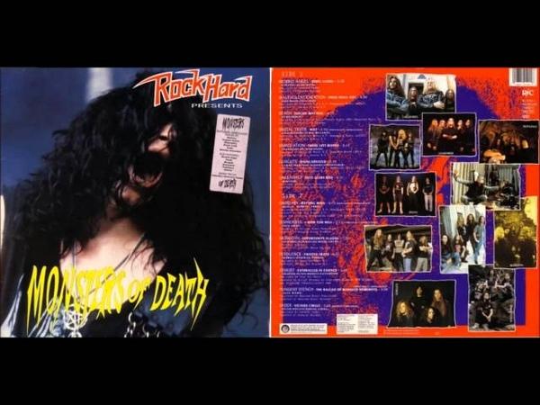 ROCK HARD ´´monsters of death´´ comp. 12´´LP (1992)