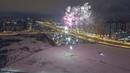 Санкт-Петербург, Приморский район, Парк Озеро Долгое, Фейерверк/Салют на Озере Долгом! 01.01.2019