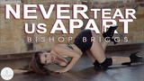 Bishop Briggs - Never Tear Us Apart Strip plastic by Tinamarata VELVET YOUNG DANCE CENTRE