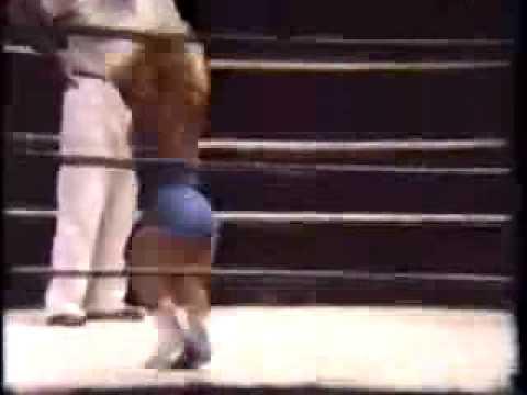 Midget Women's Wrestling 1950s SILENT