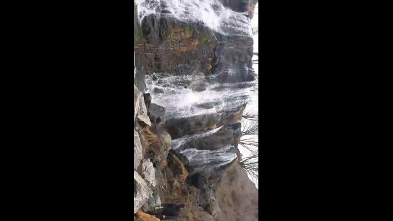Водопад шаки. Армения