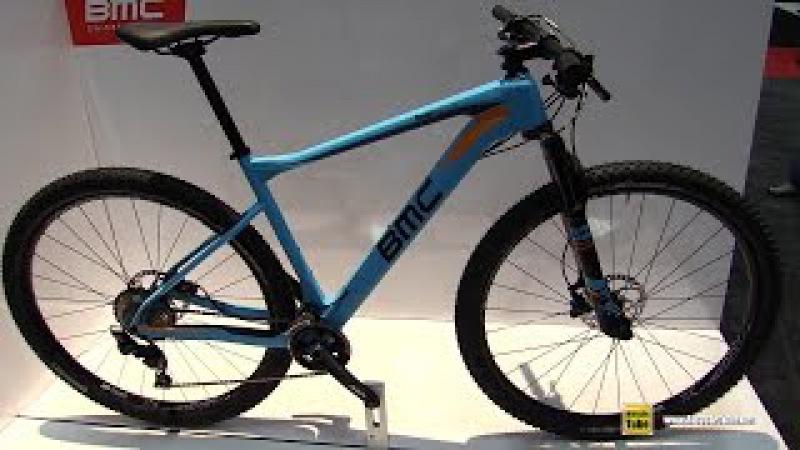 2017 BMC TeamElite 02 Mountain Bike - Walkaround - 2016 Interbike Las Vegas