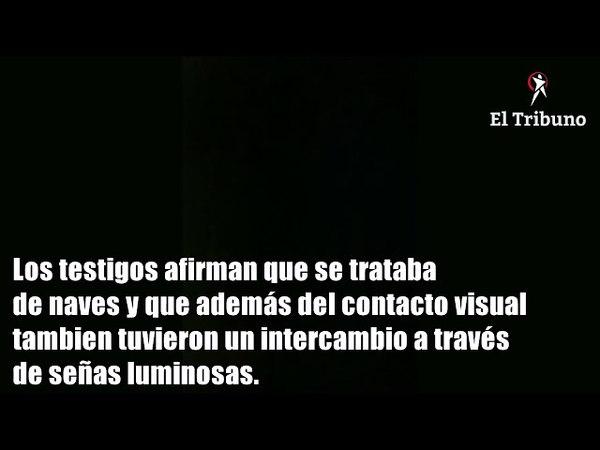 En Rosario de la Frontera, aseguran que se contactaron con extraterrestres