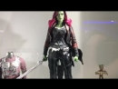 Hot Toys MMS483: Guardians of the Galaxy Vol. 2 – Gamora 1/6 prototype preview Infinity War