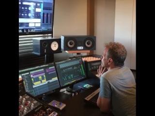 bruno_pelletier_officiel: Session d'écoute avec brigittem_official pour son prochain album
