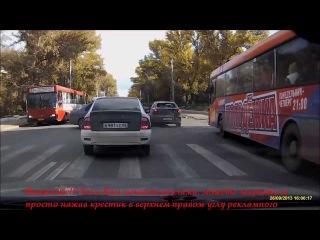 Троллейбус без тормозов, Авария ДТП №1217, 26 Сентября, Саратов, Авария на перекрестке