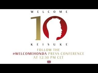 AC Milan | Keisuke Honda Official Presentation (ENG)