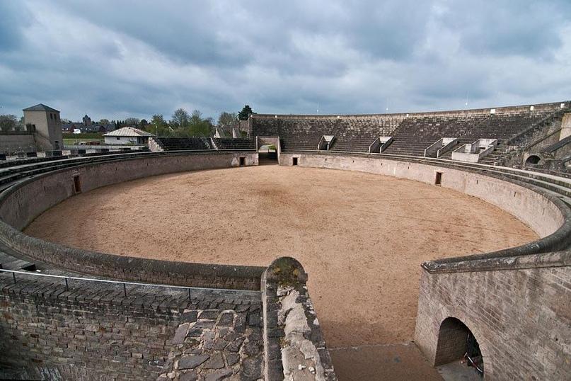Ксантен, римский амфитеатр