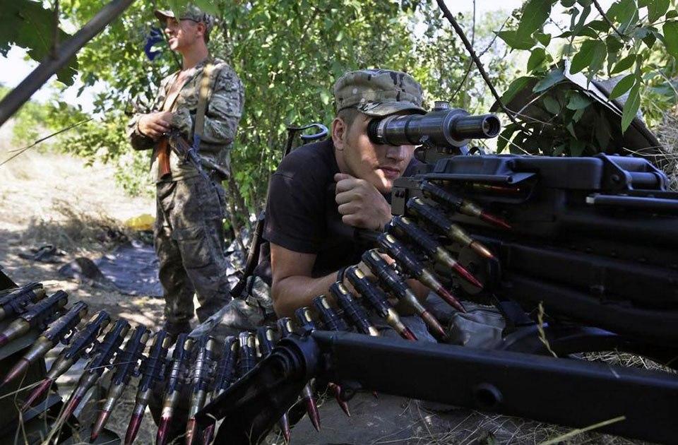Ситуация на Донбассе на 17 августа