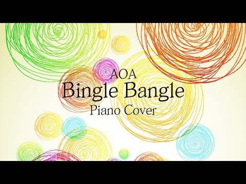 AOA (에이오에이) - 빙글뱅글 (Bingle Bangle) | 가사 lyrics | 신기원 피아노 커버 연주곡 Piano Cover