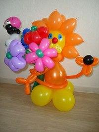 Как сделать композицию из шаров воздушных своими руками