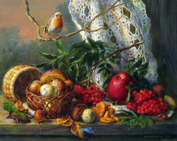 Екатерина Калиновская родилась в Витебске С малых лет увлекаясь искусством, окончила Уральский филиал ваяния и живописи.Сейчас она живет в Санкт-Петербурге. Хоть Екатерина и молодой художник, ее