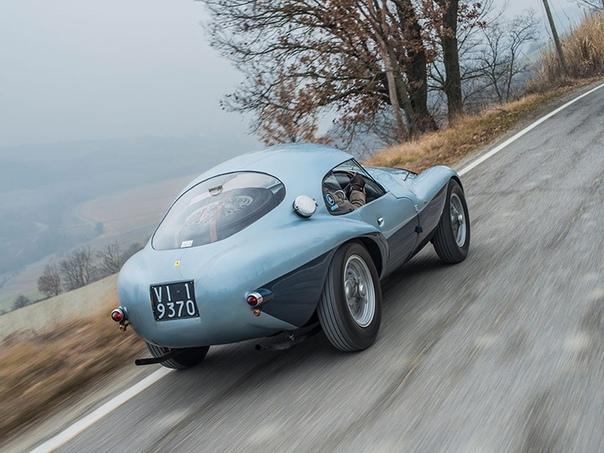 Серия фотографий Ferrari 166 MM/212 Export «Uovo» 1950г.