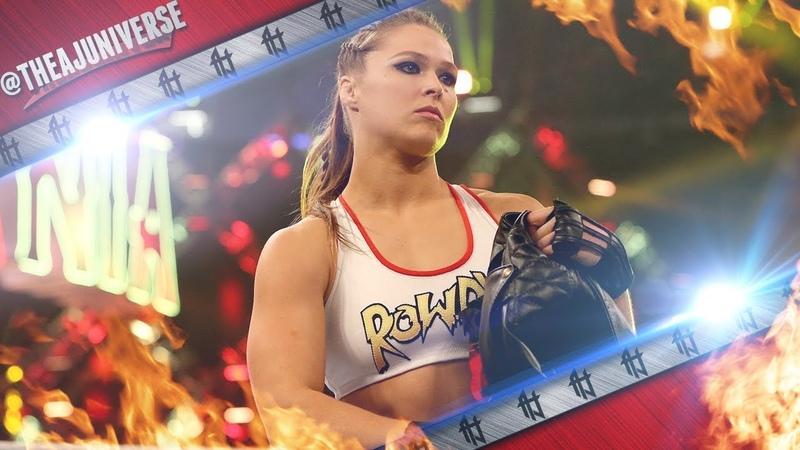 Rowdy Ronda Rousey 1st Custom Titantron