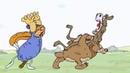 МУЛЬТПРИКОЛКОМЕДИЯНе пуха не пера Очень смешной мультик про оленя