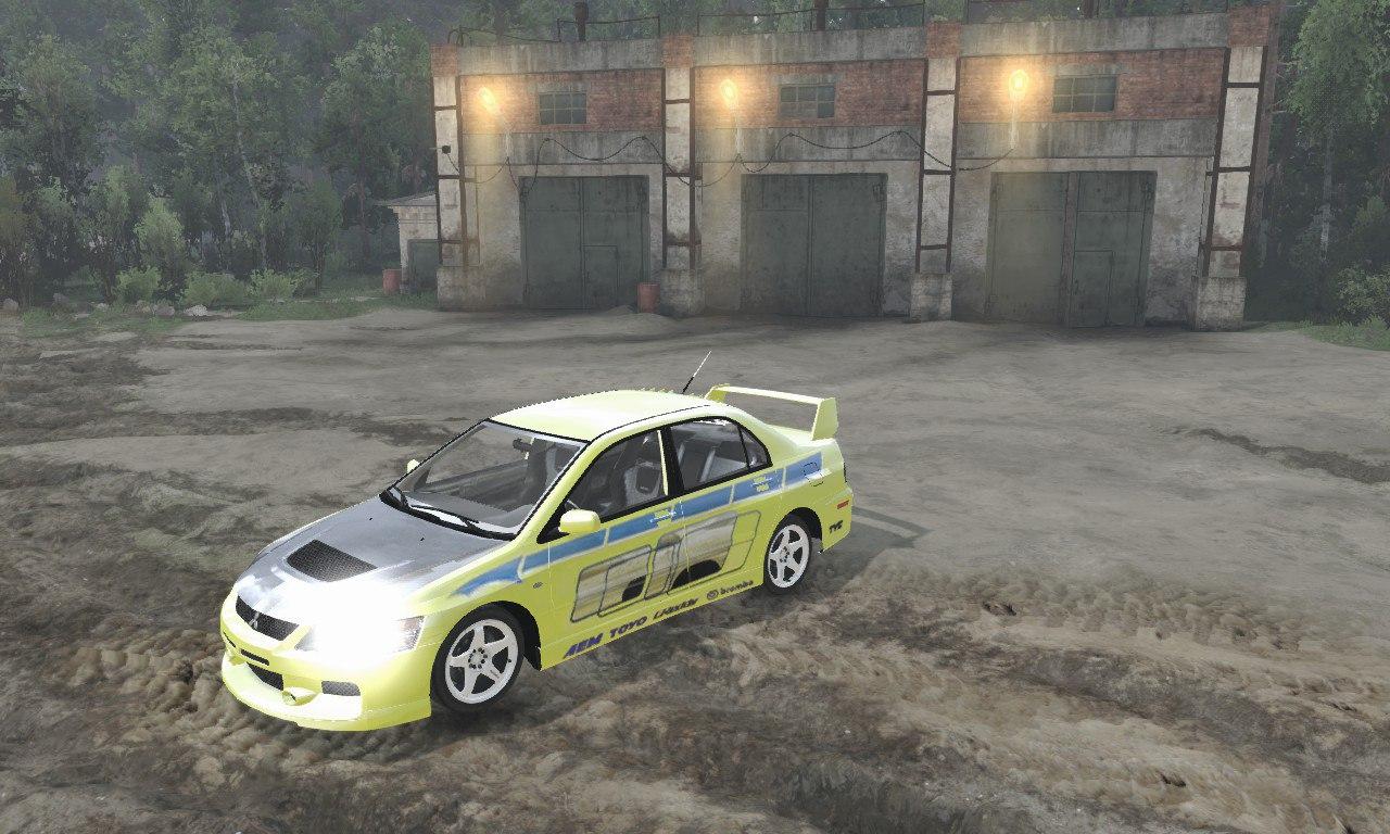 Mitsubishi Lancer Evo для 03.03.16 для Spintires - Скриншот 3