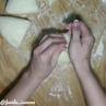 Завтрак • Ленивые вареники ушки с творогом