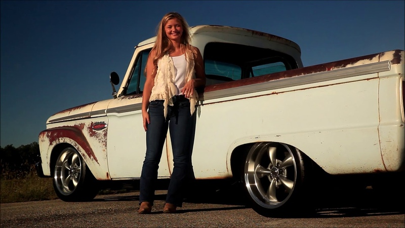 Robusto 1966 Ford F 100 Big Block 390 Cold AC Sweet Satin Patina Pickup FOR SALE