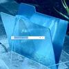 голубая папка