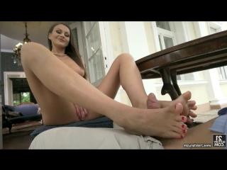 Tina Kay [HD 720, All Sex, British, Brunette, Foot Fetish, Feet, Milf, Hardcore, Blowjob, Worship, Anal, Cumshot, New 2018]