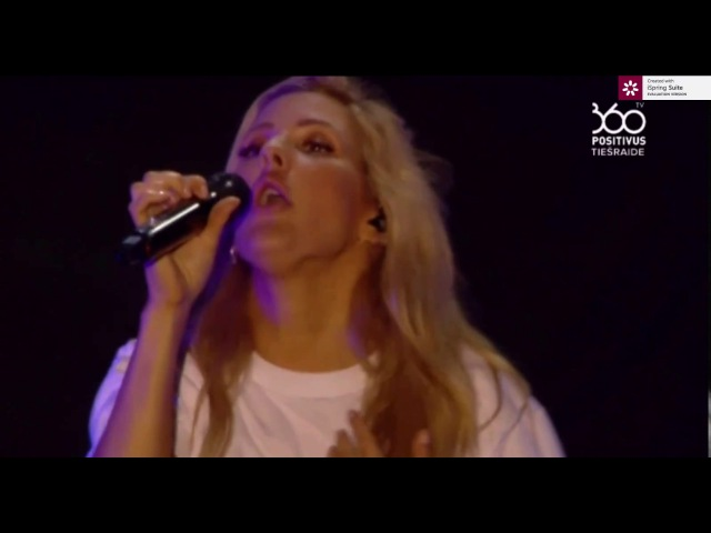 Ellie Goulding - Love me like you do (Positivus festival 2017 live)