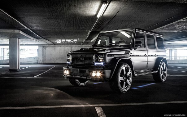 Mercedes-Mercedes G-Wagon  Prior-Design