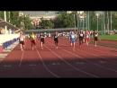 Финалы на 100 м Ж и М на ЧР по л а среди ветеранов 3 5 августа 2018 г в г Москва