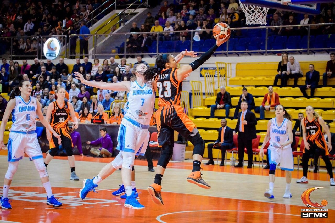 Финальная серия баскетбольной Премьер-лиги перебралась в Курск
