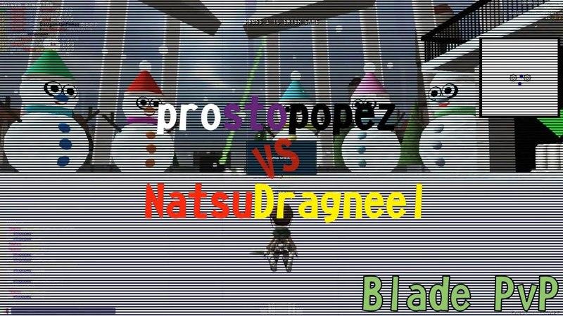 [AoTTG] prostopopez vs NatsuDragneel - Blade PvP