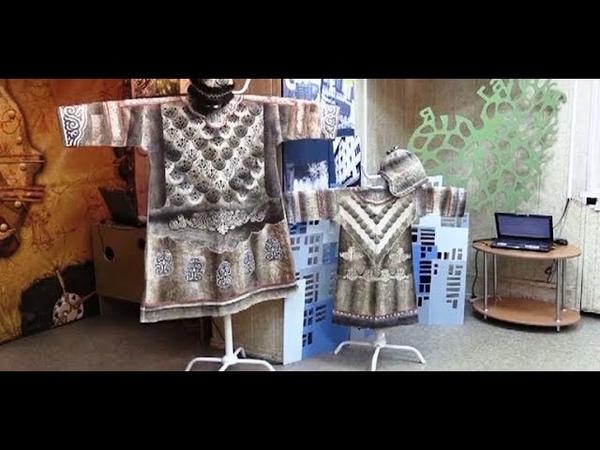 Нанайские орнаменты На Таймыре возрождается мода на наряды из рыбьей кожи
