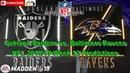 Oakland Raiders vs. Baltimore Ravens | NFL 2018-19 Week 12 | Predictions Madden NFL 19