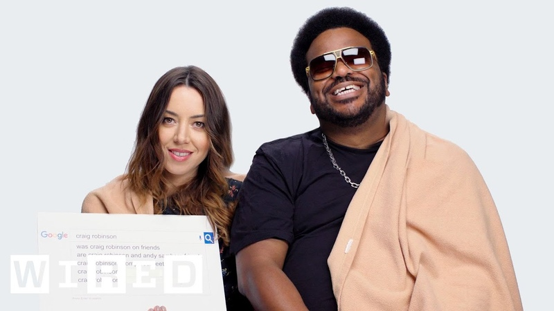 Aubrey Plaza Craig Robinson Answer the Web's Most Searched Questions | WIRED