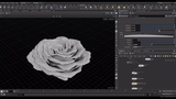 CGI Rose using Houdini and Redshift by Stephen Bester VFX