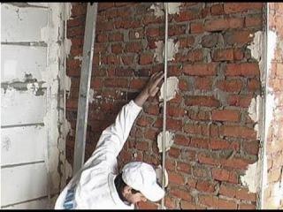 Установка маяков для штукатурки стен своими руками Видео