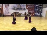 Roksolana | Classic bellydance small group | Minsk 2014
