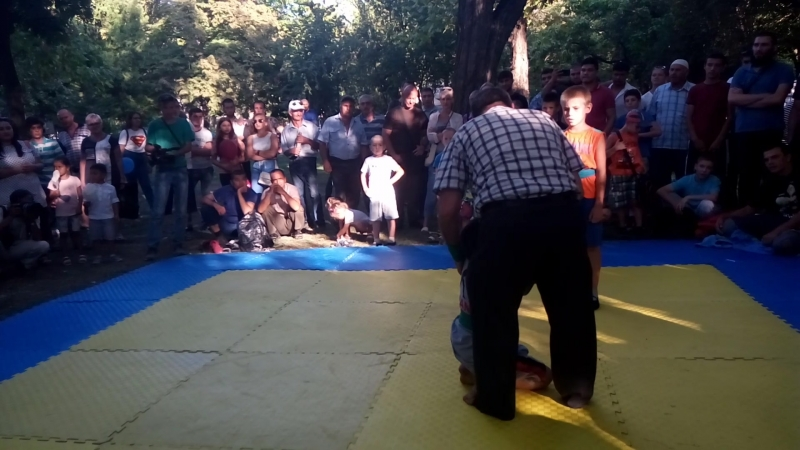 Халилов Ренат 1 место Наш чемпион Куреш 2018г