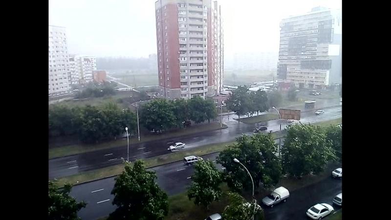 Кратко мокрый дождь