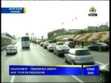 Fenerbahçe takım otobüsüne taş yağmuru!